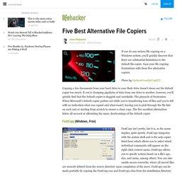 Five Best Alternative File Copiers