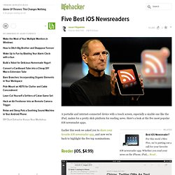 Five Best iOS Newsreaders