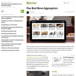 Five Best News Aggregators