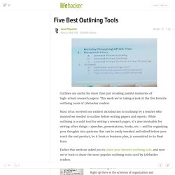 Five Best Outlining Tools