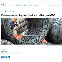 Five better indicators than GDP