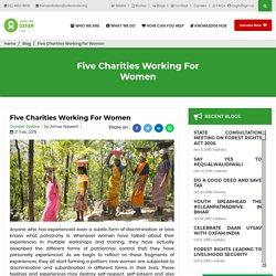 Five Charities Working For Women
