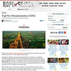 Top Five Documentaries of 2012