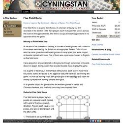 Five Field Kono: Cyningstan