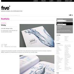 Livre de marque Vichy