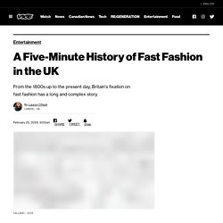 A Five-Minute History of Fast Fashion in the UK