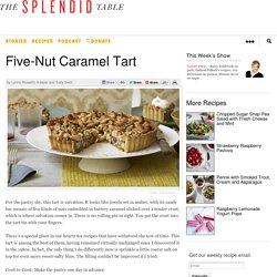 Five-Nut Caramel Tart