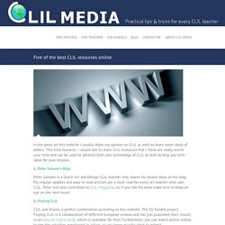 Five of the best CLIL resources online - CLIL Media