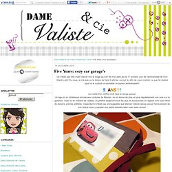 Five Years: cozy car garage's - Dame Valiste & Cie
