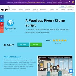 Ready-made Fiverr Clone Script