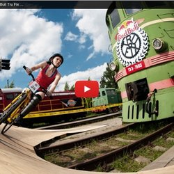 Fixed Gear Biking in Latvia - Red Bull Tru Fix 2013 - YouTube