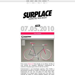 Fixie Studio - SURPLACE