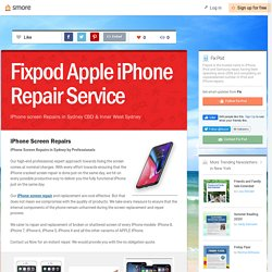 Fixpod Apple iPhone Repair Service