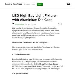 LED High Bay Light Fixture with Aluminium Die Cast