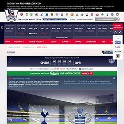 Spurs vs QPR