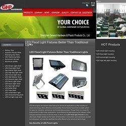 LED Flood Light Fixtures - General Hardware
