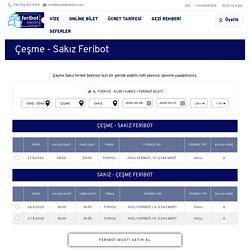 Çeşme Sakız Feribot Bileti Fiyatları ve Sefer Saatleri - FeribotBiletim
