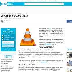 FLAC File (What It Is & How To Open One)