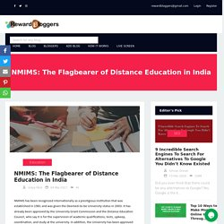 NMIMS: The Flagbearer of Distance Education in India