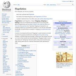 Flagellation