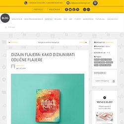Dizajn flajera: kako dizajnirati odlične flajere