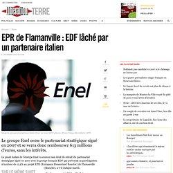 EPR de Flamanville: EDF lâché par un partenaire italien