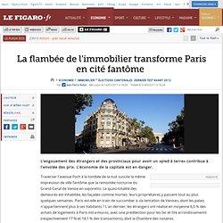 Immobilier : La flambée de l'immobilier transforme Paris en cité fantôme
