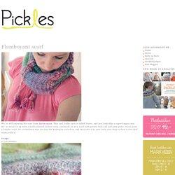 Flamboyant scarf