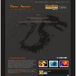 Flame Painter | free online paint program