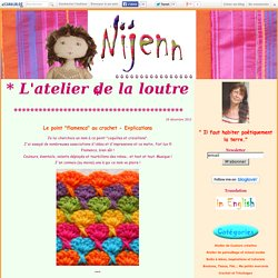"Le point ""flamenco"" au crochet - Explications - Nijenn"