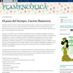 El paso del tiempo. Cuento flamenco.