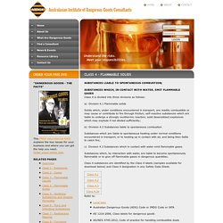 AIDGC: Dangerous Goods Consultants - Hazardous Chemicals & Chemical Storage