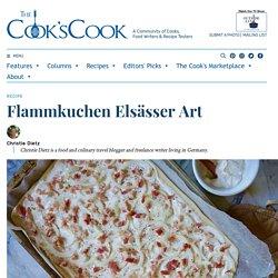 Flammkuchen Elsässer Art - The Cook's Cook
