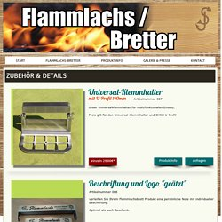 Flammlachsbretter by SJ