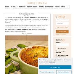 Flan aux épinards (sans gluten)