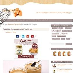 Flan au Caramel - Recette du Flan au Caramel au Beurre Salé