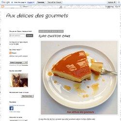 FLAN CHIFFON CAKE