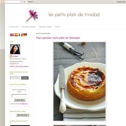 Flan parisien sans pâte de Michalak