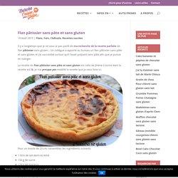 Flan pâtissier sans pâte et sans gluten