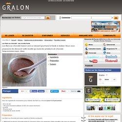 Les flans au chocolat : une recette facile