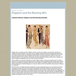 Flappers and the Roaring 20's - www