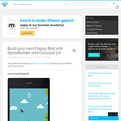 Build your own Flappy Bird with SpriteBuilder and Cocos2d 3.0