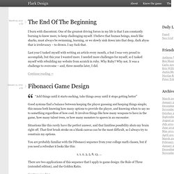 Flark Design - Knowing the game — by Mike Birkhead