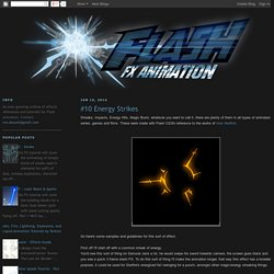 Flash FX Animation: #10 Energy Strikes
