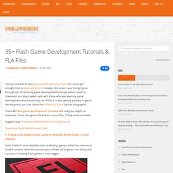 35+ Flash Game Development Tutorials & FLA Files