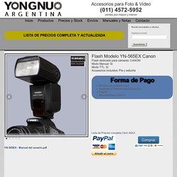 Flash YONGNUO YN-565EX Canon