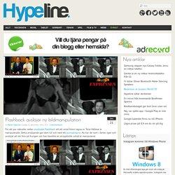 Hypeline – Nyheter om mobil, tablets, teknik, webb, film, spel med mera