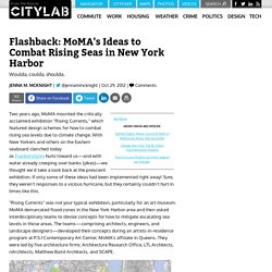 Flashback: MoMA's Ideas to Combat Rising Seas in New York Harbor