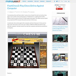 FlashChess3: Play Chess Online Against Computer