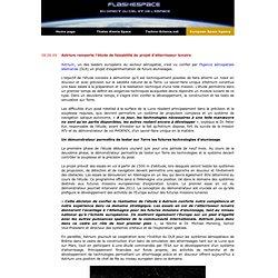 Astrium remporte l'étude de faisabilité du projet d'atterrisseur